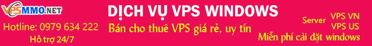 Thuê VPS Windows giá rẻ